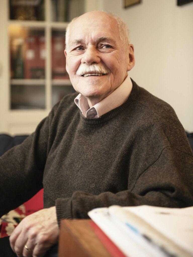 Portrét profesora Bedřicha Moldana